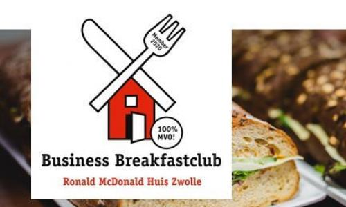 Ronald McDonald Business Breakfast: 100e ontbijt in maart
